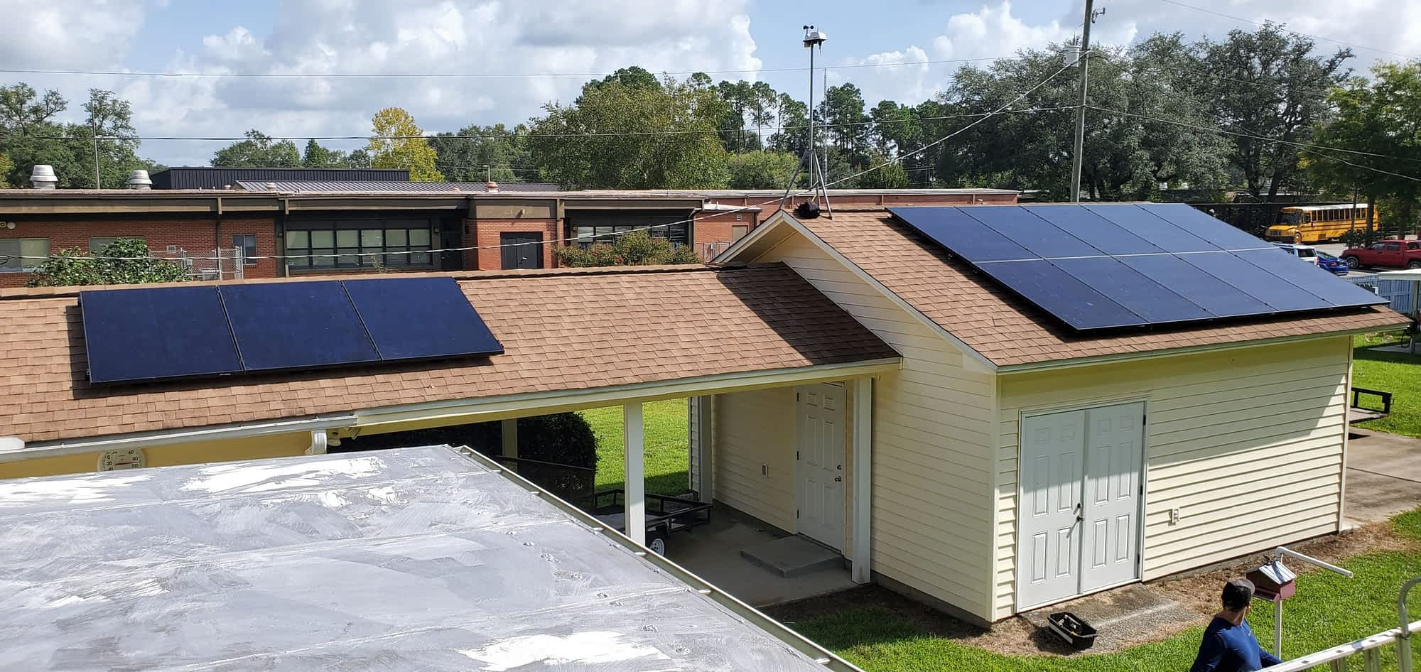 Compass solar panels in pensacola